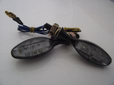 LED indicators Eagle eye and resistors two pairs black